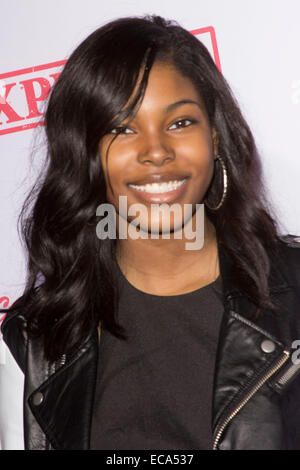 Dec. 10, 2014 - Los Angeles, California, U.S. - Diamond White    attends   Premiere Of AwesomenessTV's 'Expelled'  on 10th December 2014  at  Westwood Village Theatre, Los Angeles.California.USA.(Credit Image: © TLeopold/Globe Photos/ZUMA Wire)