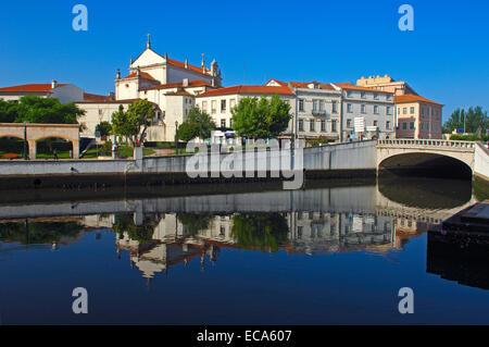 Canal central, Aveiro, Beiras region, Portugal, Europe - Stock Photo
