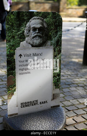 united kingdom north london highgate cemetery west - Stock Photo