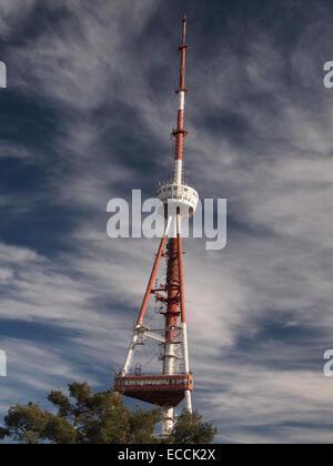 Tbilisi TV Broadcasting Tower (Georgia) - Stock Photo