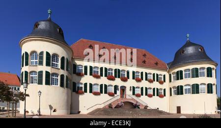 Bergzabern Palace, Bad Bergzabern, German Wine Route, Southern Wine Route, Southern Palatinate, Palatinate, Rhineland - Stock Photo