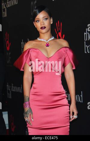 Los Angeles, California, USA. 12th Dec, 2014. Rihanna attends Rihanna's First Annual Diamond Ball benefitting The - Stock Photo