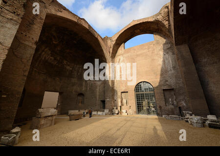 Rome. Italy. Baths of Diocletian. Terme di Diocleziano. Museo Nazionale Romano. - Stock Photo
