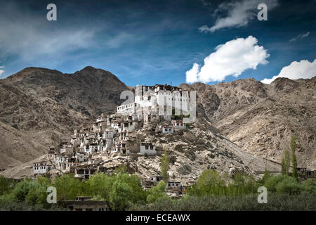 India, Ladakh, Chemrey buddhist monastery - Stock Photo