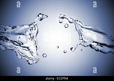 perfect water splash