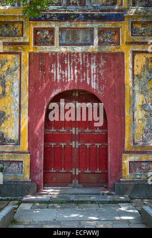 Chuong Duc Gate at Hue Imperial City - Stock Photo
