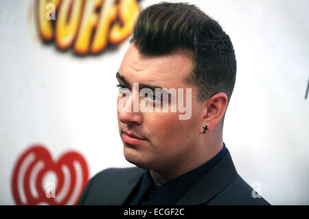 Sam Smith Attends Z100 39 S Jingle Ball At Madison Square