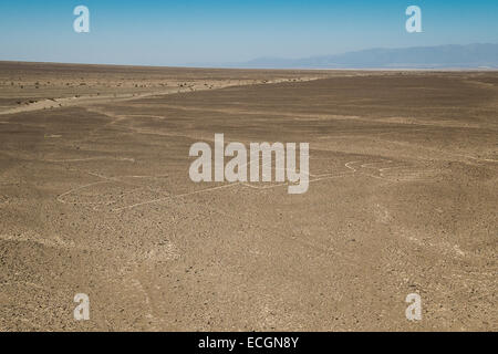 Nazca Symbols And Lines In Peru South America Stock Photo 76585292