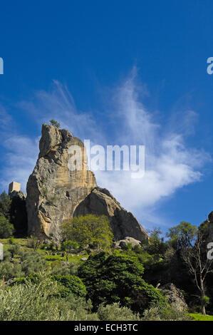 Peñas Negras Castle, Tiscar Castle and Monastery, Tiscar-Don Pedro, Quesada, Sierra de Cazorla - Stock Photo