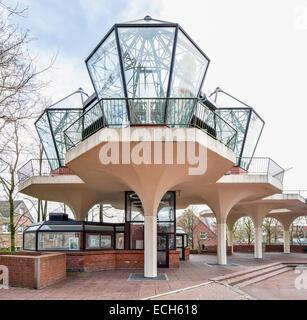 Holarium, Holography Museum, 3D Museum, Esens, East Frisia, Lower Saxony, Germany - Stock Photo