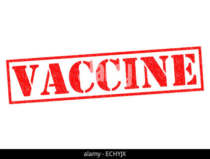 VACCINE red Rubber Stamp over a white background. - Stock Photo