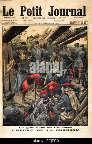 Le petit journal illustrated supplement front cover of march 1917 stock phot - Sticker le petit journal ...