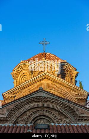 Republic of Macedonia, Ohrid, listed as World Heritage by UNESCO, the church - Stock Photo