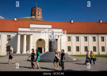 Lithuania (Baltic States), Vilnius, the New Arsenal, historical and ethnographic exhibition in the National Museum, - Stock Photo