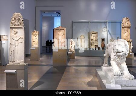 Germany, Berlin, Museum Island, listed as World Heritage by UNESCO, Altes Museum, home to a collection of ancient - Stock Photo