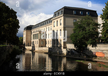 State parliament at Leine Castle (Leineschloss),   Hannover, Lower Saxony, Germany, Europe - Stock Photo