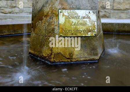 France, Jura, Lons le Saunier, salted Well, fountain