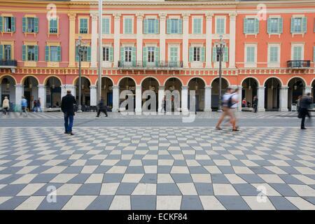 France, Alpes Maritimes, Nice, Massena place - Stock Photo