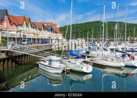 port guillaume dives sur mer normandy france stock photo 74249230 alamy. Black Bedroom Furniture Sets. Home Design Ideas