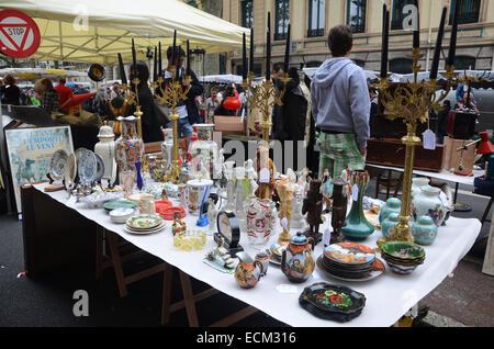 Lille Braderie, Rijssel France. - Stock Photo