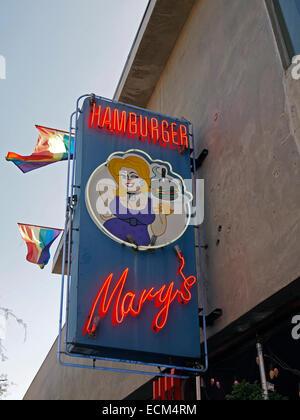 Hamburger Mary's, West Hollywood, Los Angeles, California - Stock Photo