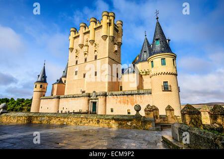 Segovia, Spain at the Alcazar. - Stock Photo