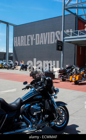 milwaukee wisconsin downtown harley davidson museum founded in