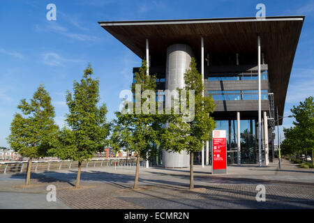 City Campus, University of South Wales, Newport, UK - Stock Photo