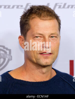 Hamburg, Germany. 16th Dec, 2014. The actor Til Schweiger poses before the premiere of the film 'Honig im Kopf' - Stock Photo