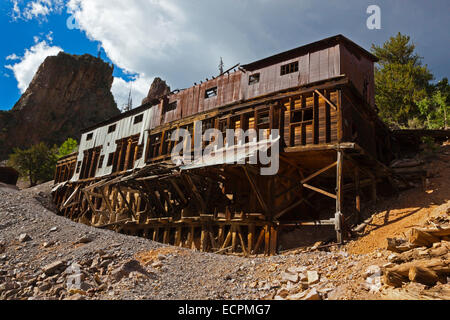The AMETHYST MINE in CREEDE COLORADO, a silver mining town dating back to the mid 1800's.