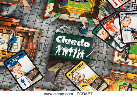 cluedo playing pieces