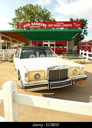 Syracuse, New York, USA.July 17,2014 . Bob Barker's Hot Dogs and Coneys Restaurant - Stock Photo