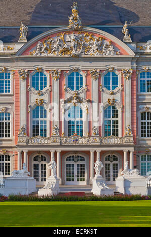 ELECTORAL PALACE, KURFUERSTLICHES PALAIS, BAROQUE STYLE, TRIER, TREVES, RHINELAND-PALATINATE, GERMANY - Stock Photo
