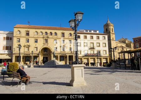 Plaza de Andalucía, Úbeda, Jaén province, Andalusia, Spain, Europe - Stock Photo