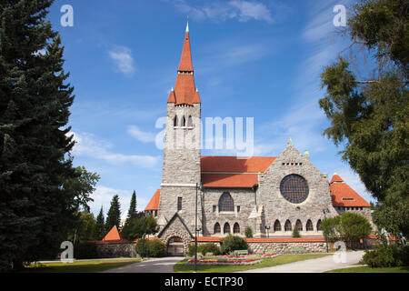 cathedral, tampere, finland, europe - Stock Photo
