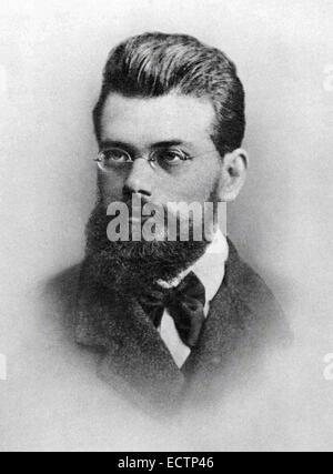 Ludwig Boltzmann, Austrian physicist - Stock Photo