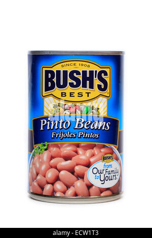 Bush's Best Canned Pinto Beans - Stock Photo
