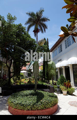 Via Amore, at the rear of Worth Avenue, Palm Beach County, Florida, USA - Stock Photo