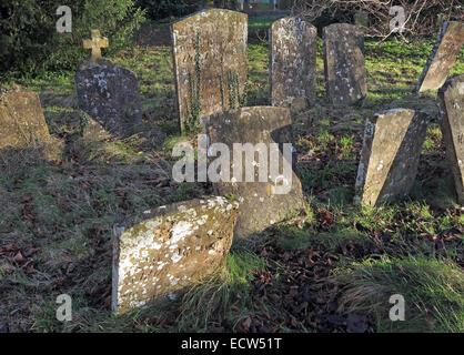 St Marys Church Ardley, Oxfordshire, England, United Kingdom - Stock Photo