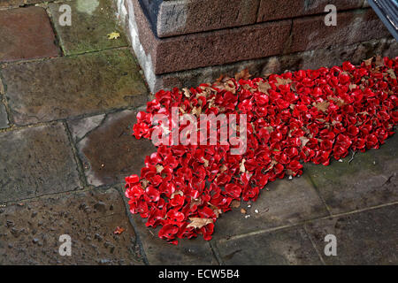 Blood Swept Lands & Seas of Red - detail - Stock Photo