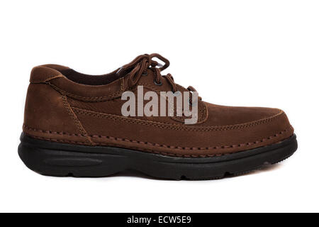 Profile of an oxford style shoe - Stock Photo