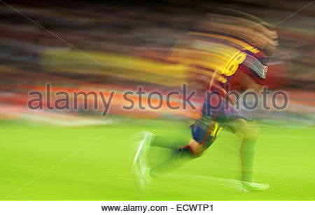 Barcelona, Spain. 20th Dec, 2014. Jordi Alba in the match between FC Barcelona and Cordoba CF, for the week 16 of - Stock Photo
