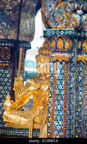 Erawan Shrine, Bangkok, Thailand - Stock Photo