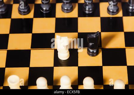 Board Game Chess Nobody - Stock Photo