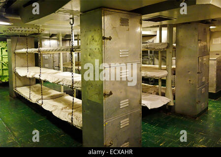 Navy Ship Bunk Beds Stock Photo Royalty Free Image