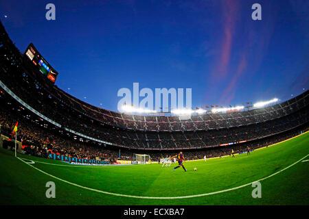 Barcelona, Spain.  20th Dec, 2014. Xavi (Barcelona) Football/Soccer : Spanish Primera Division 'Liga BBVA' match - Stock Photo