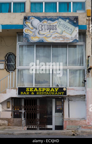Seaspray Bar and Restaurant in Malta - Stock Photo