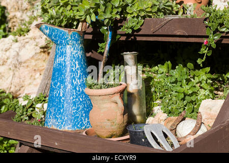 Rusty metal gardening fork stock photo royalty free image for Ladies small garden fork