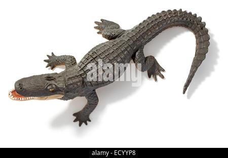 toy alligator - Stock Photo