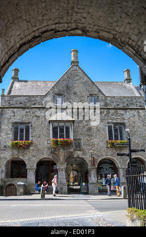 Ireland, Kilkenny, the ancient Rothe House in High street - Stock Photo